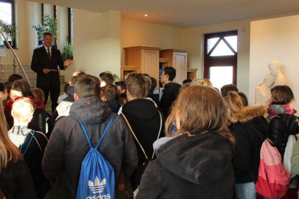 Konfirmandenbesuch aus Bordenau und Poggenhagen